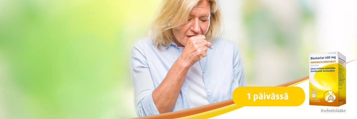 Bisolaclar – limaa irroittava yskänlääke aikuisille